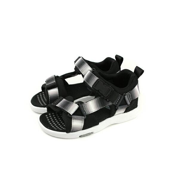 MoonStar涼鞋黑白漸層中童童鞋MSC21941no141