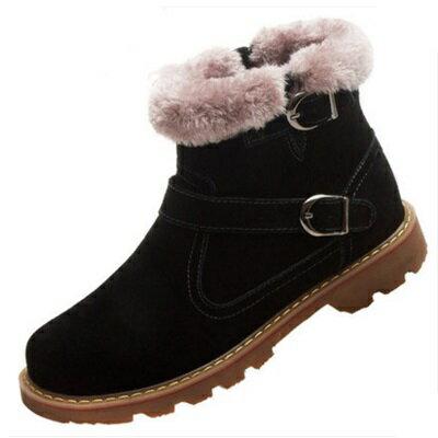 雪靴 中筒靴子-時尚英國風格保暖男鞋子3色72af30【獨家進口】【米蘭精品】