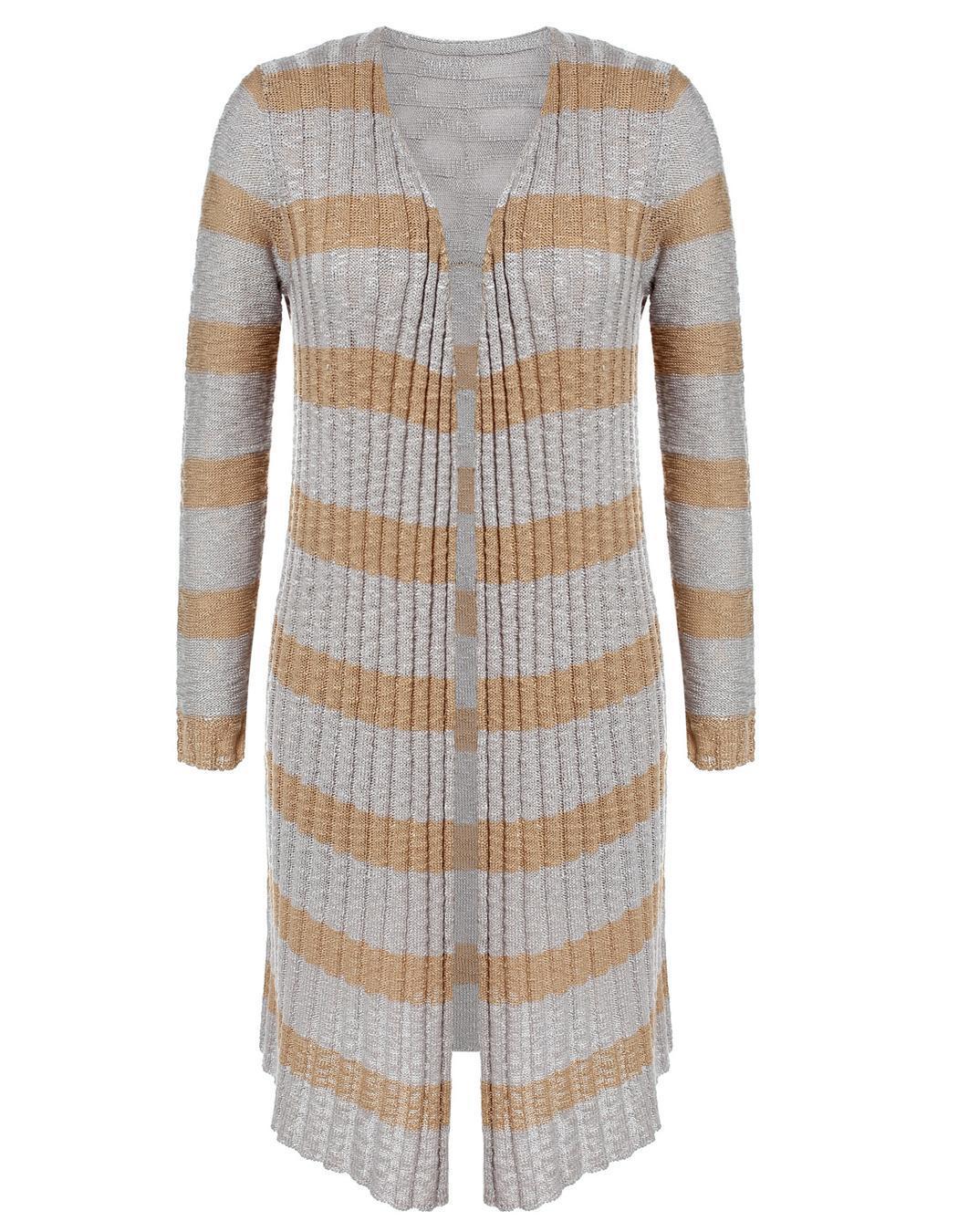 Miageek Women Long Sleeve Maxi Cardigan Outwear 2