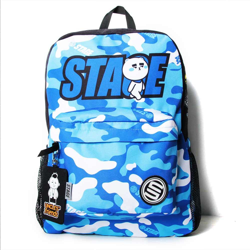 STAGE BAG × UNCLES FRIENDS CAPRICORN BACKPACK 藍色 摩羯座 2