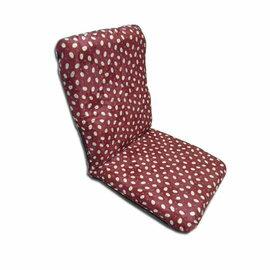 【台客嚴選】日系招財兔高背舒適和室椅(紅色)