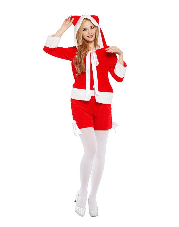 X射线【X380033】 性感圣诞野猫服, 舞会/尾牙/万圣/圣诞/大人变装/cosplay/表演/摄影/写真/话剧