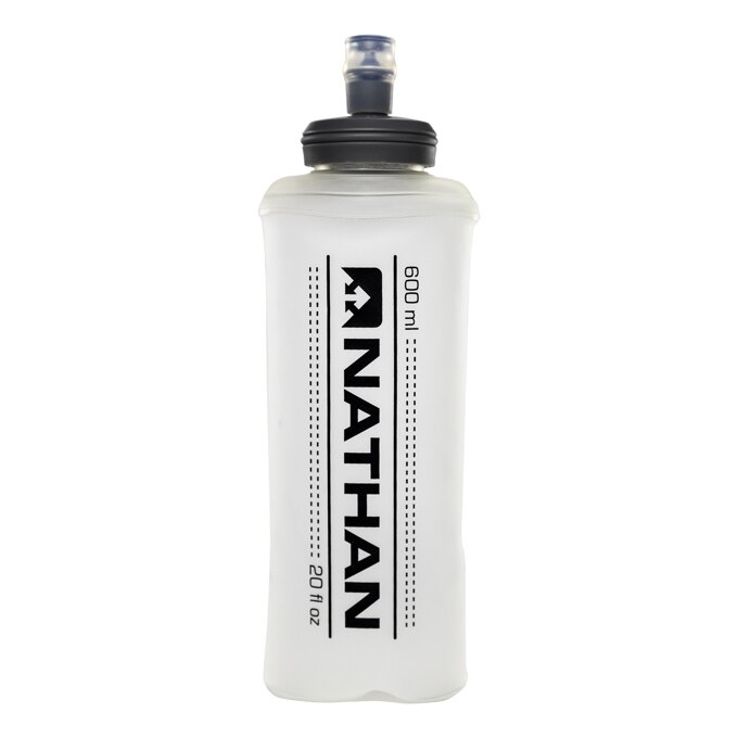 美國NATHAN專業運動品牌:600ML軟管水壺Hydrapak.騎跑泳/勇者-運動配件與補給.