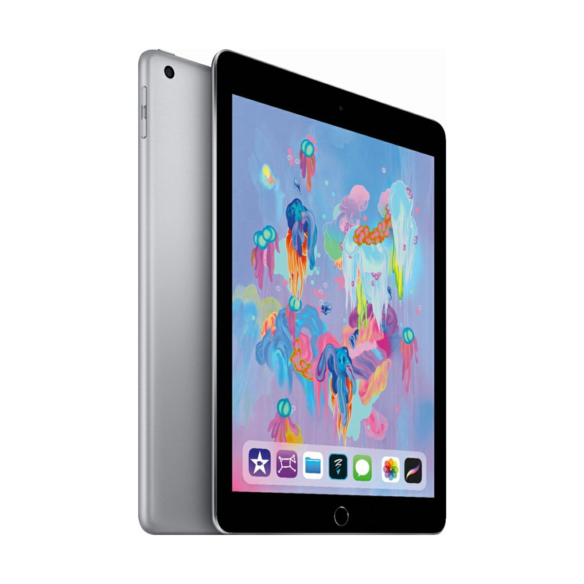 "Apple iPad 9.7"" Multi-Touch Retina Display 32GB A10 Chip Wi-Fi Tablet MR7F2LL/A - Space Gray (2018) 1"