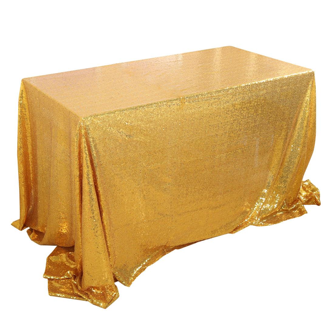 224 & Unique BargainsSparkle Sequin Tablecloth Table Cloth Cover 60x120\