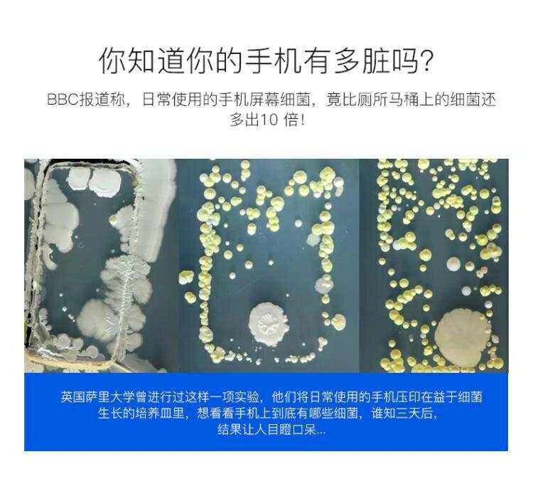 紫外線消毒器家用小型手機無線充電器內衣口罩牙刷殺菌消毒盒24時