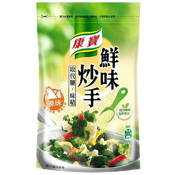 康寶鮮味炒手原味(袋)500g