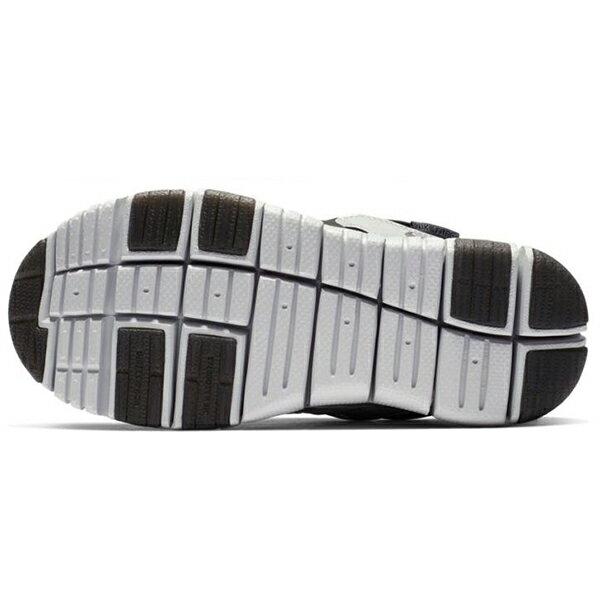 Shoestw【BQ7105-001】NIKE DYNAMO FREE 童鞋 毛毛蟲 中童鞋 黑灰銀 可凹折 3