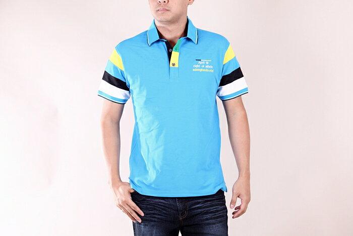 【CS衣舖 】美式風格 萊卡彈性 短袖POLO衫 9150 3
