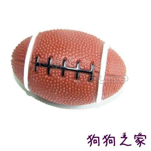 ☆狗狗之家☆寵物啾啾叫玩具 發聲玩具~橄欖球