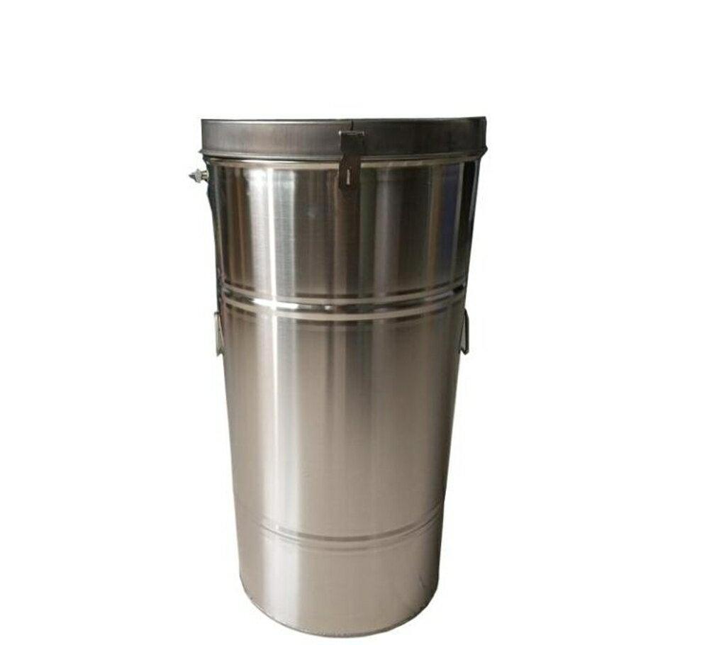 全新搖蜜機1.1加厚亮光不銹鋼搖蜜機蜜桶壓蜂蜜打糖機流蜜口  名購居家ATF 新春鉅惠