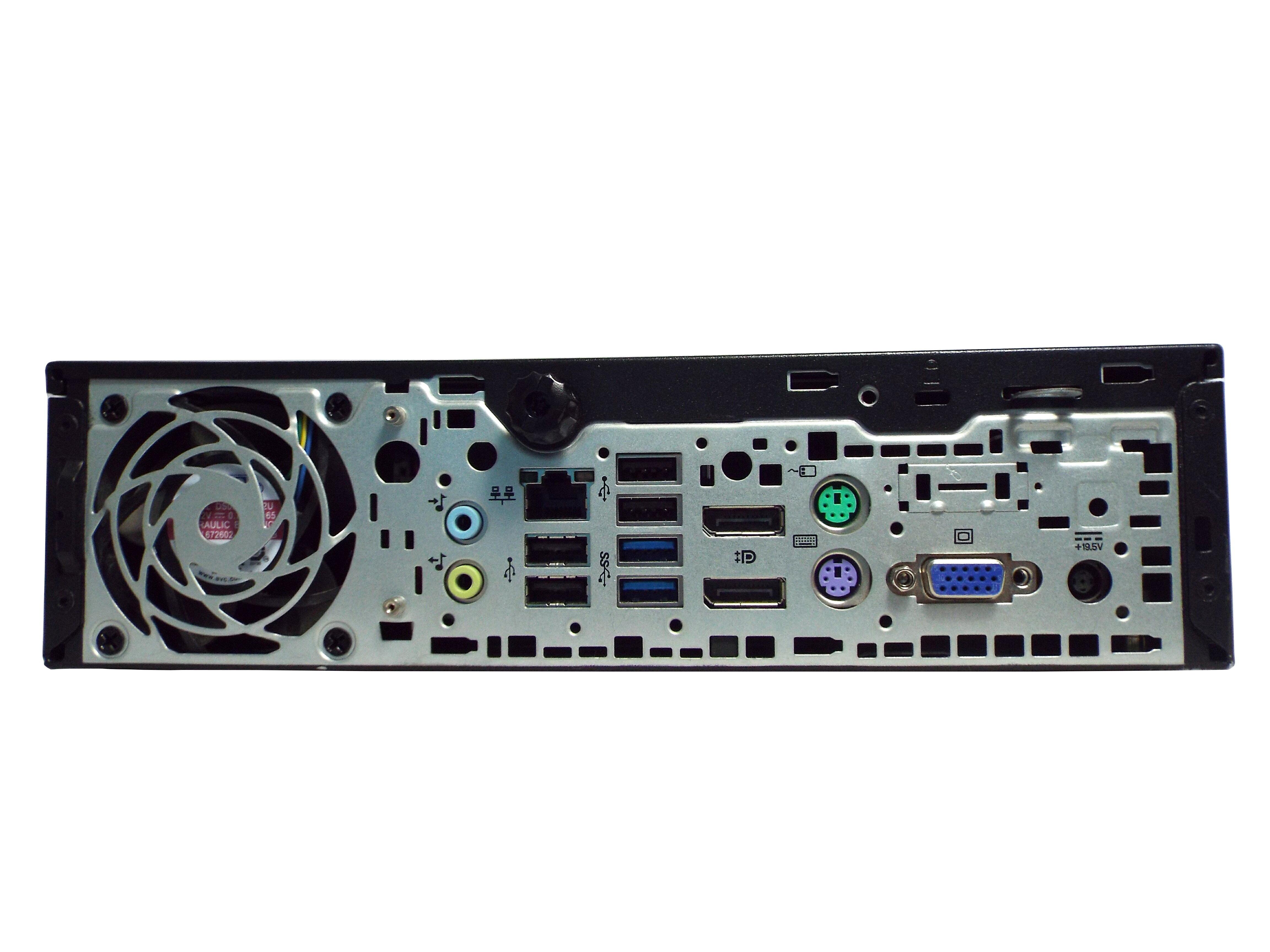 Grade-A HP EliteDesk 800 G1 Ultra Slim Desktop PC, Intel Core i5-4570s  2 9GHz, 8GB DDR3 RAM, 256GB SSD, Win-7 Pro x64
