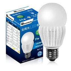 Seventeam七盟 ST-L011-W1 11W全周光LED燈泡(白光)