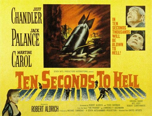 Ten Seconds To Hell Jeff Chandler Martine Carol Jack Palance 1959 Movie Poster Masterprint (14 x 11) 4a415e7f6f9a19155687b4a0f5203010