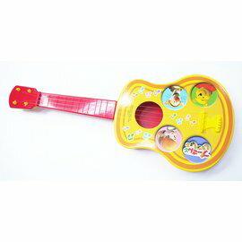 日本正版進口 迪士尼Disney 小熊維尼Winnie the pooh 玩具吉他(輕巧/4根弦線)