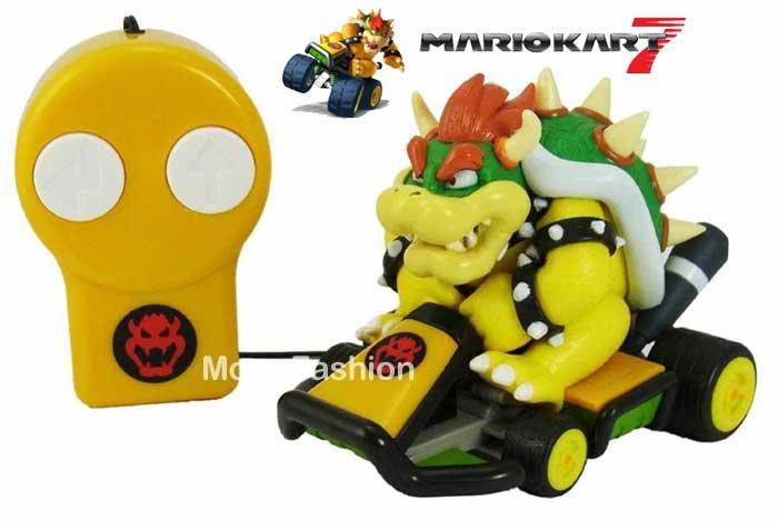 日本正版進口_N3DS 3DS 瑪利歐賽車7/瑪莉歐 Mario Kart 7_遙控汽車玩具(大魔王庫巴款)