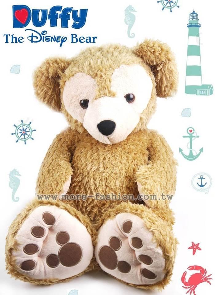 日潮夯店 日本 東京迪士尼樂園 帶回 DUFFY 達菲熊  L 96cm 超大型 絨毛 娃娃 玩偶