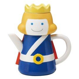日本進口 童話風格 SUNART TEA FOR ONE 白馬王子 茶壺茶杯組