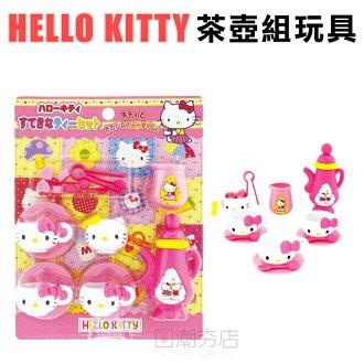 [日潮夯店] 日本正版進口 HELLO KITTY 凱蒂貓 茶壺組 下午茶 玩具 扮家家酒