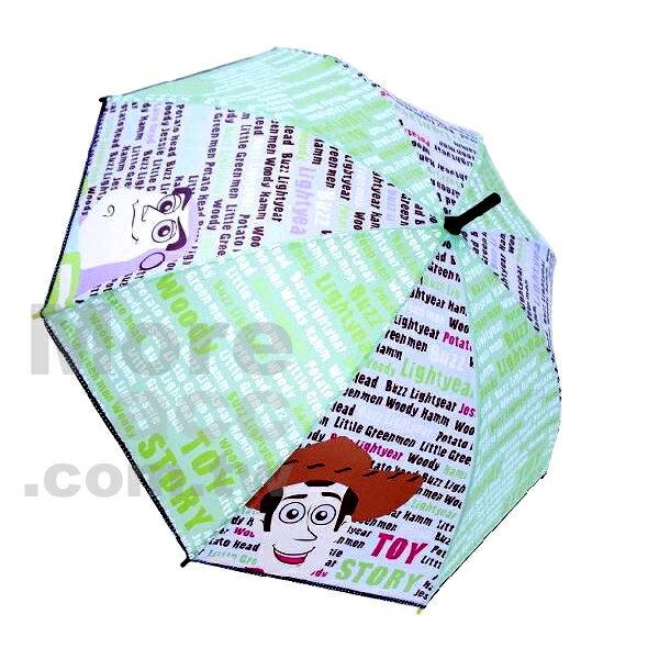 [日潮夯店] 日本正版進口 Disney迪士尼 皮克斯 超可愛 受歡迎 玩具總動員 胡迪 巴斯 字母 遮陽 遮雨 兩用 雨傘/直立傘
