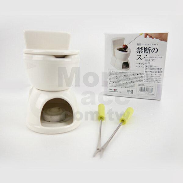 [日潮夯店] 日本正版進口 便器x巧克力 便器造型 馬桶造型 食器