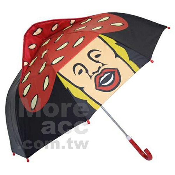 [日潮夯店] 日本正版進口 農場精靈/醜比頭KOBITO 紅磨菇 立體造型 47公分 強力傘骨 遮陽 遮雨 兩用 安全傘 兒童傘 雨傘/直立傘