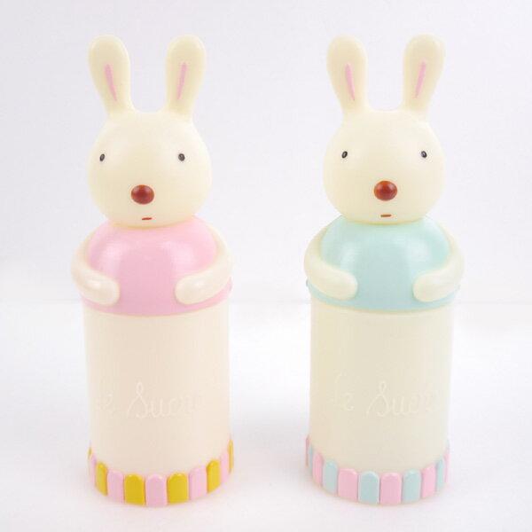 [日潮夯店] 日本正版進口 Le Sucre 法國兔 砂糖兔 牙刷 牙膏 旅行 牙刷組 共兩色
