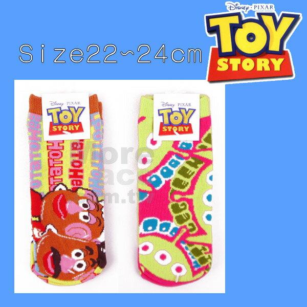 ^~日潮夯店^~   迪士尼 DISNEY 玩具總動員 三眼怪 蛋頭夫妻 馬鈴薯夫婦 短襪