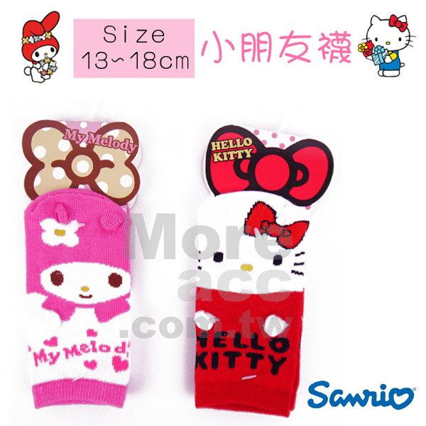 ^~日潮夯店^~   三麗鷗 Sanrio 美樂蒂 凱蒂貓 兒童 立體 耳朵 小手 短襪