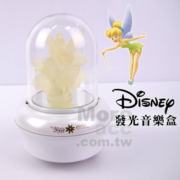 [日潮夯店] 日本正版進口 Disney 迪士尼 小飛俠 彼得潘 小精靈 發光 旋轉 音樂盒