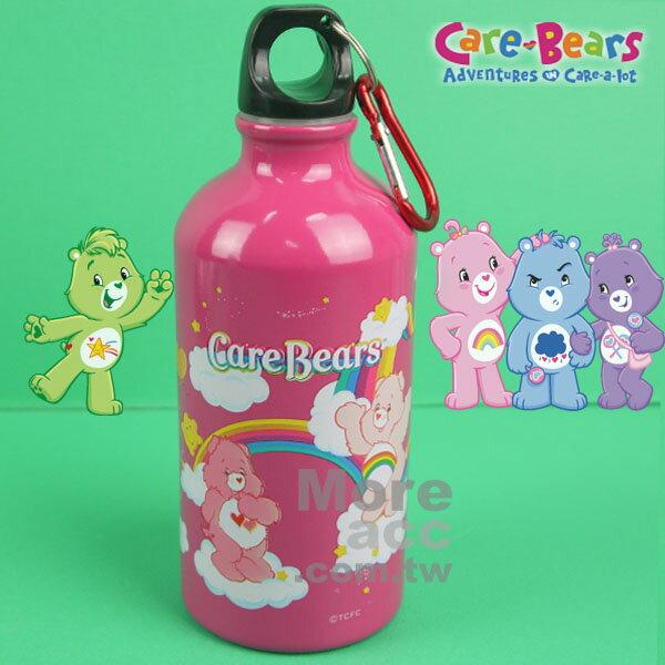 [日潮夯店] 日本正版進口 Care Bears 彩虹熊 鋁製 運動外出用水壺 500ml