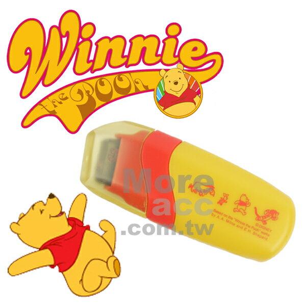 日本正版進口 Disney 迪士尼 winnie小熊維尼卡片 裝飾 滾輪花邊印章