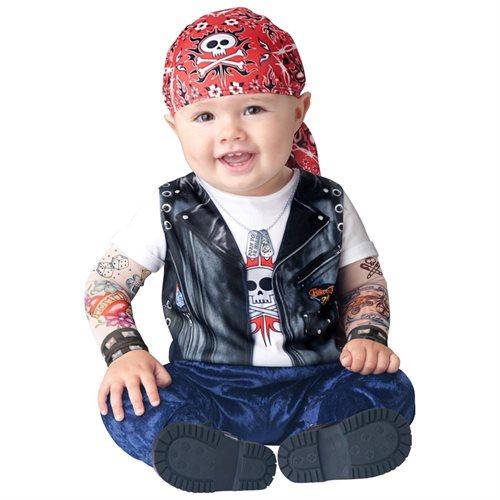 Born To Be Wild Baby Costume (Infant Medium) 0