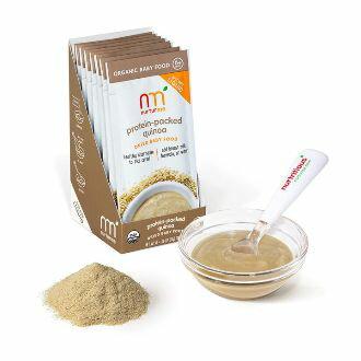 【好優Hoyo】美國原裝 NurturMe 嬰幼兒有機副食品隨身包(1組8包)~有機藜麥