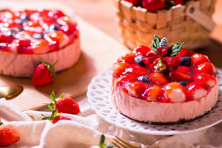 #含運組【感謝綜藝大熱門、上班這黨事節目介紹】節目美食:新鮮大湖高山草莓融心乳酪6吋!全台唯一會爆漿的草莓蛋糕~爆漿草莓乳酪蛋糕2016全新升級版:特價$380,含運優惠$530~聖誕蛋糕推薦 5