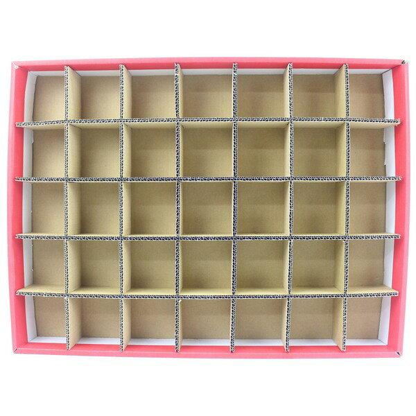 大35孔DIY洞洞樂空殼洞洞樂空盒(紙盒)一件14個入{促250}托洞戳戳樂空盒~全
