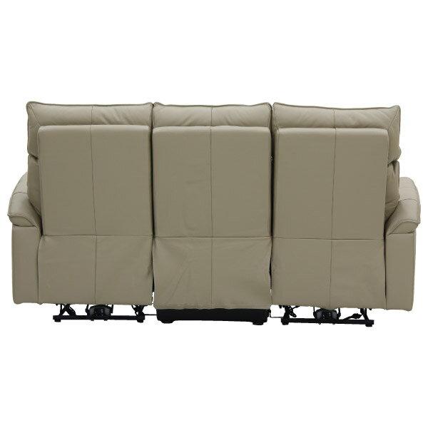 ◎(OUTLET)全皮3人用電動可躺式沙發 ELEGANTE BE 福利品 NITORI宜得利家居 3