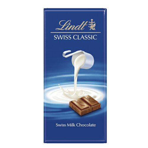 瑞士蓮經典牛奶巧克力片100g【愛買】