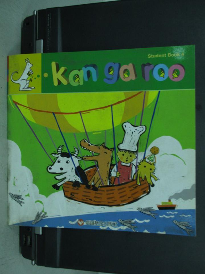 【書寶二手書T6/語言學習_PBH】kangaroo_Student book 4