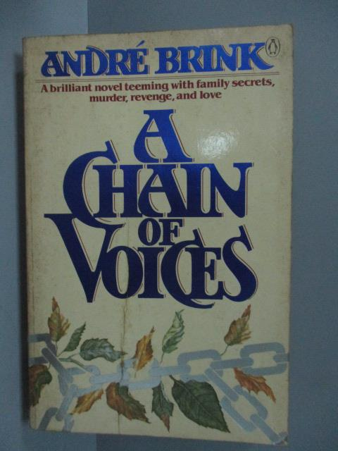 ~書寶 書T2/原文小說_IRF~A Chain of Voices_Andre Brin