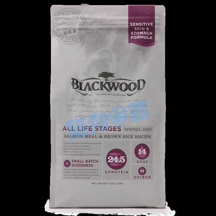 柏萊富 Blackwood 功能性全齡 腸胃保健配方(鮭魚+糙米) 15磅 幼犬飼料 狗飼料 成犬飼料 老犬飼料 WDJ推薦 全齡犬飼料 0