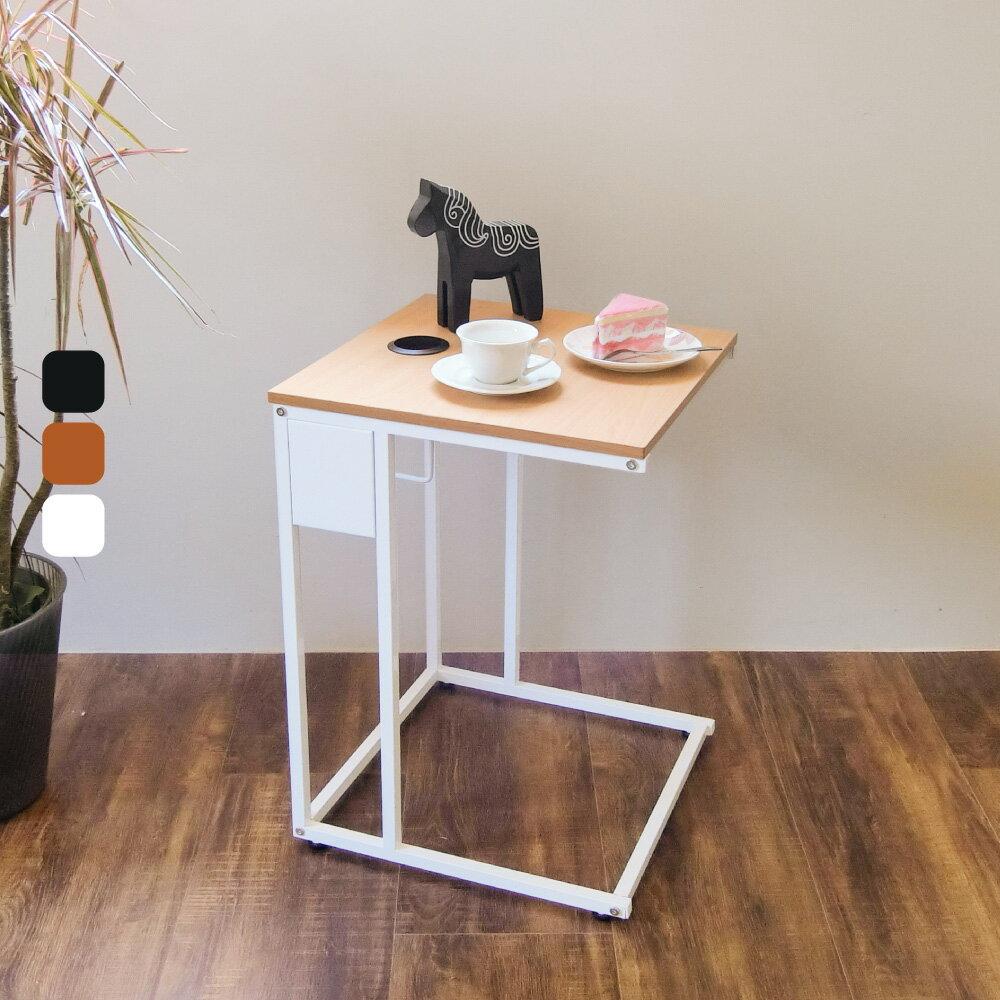 NB桌 ㄈ形多功能活動邊桌【DCA014】 附輪附面紙抽 側桌 書桌 小茶几 MIT免運 Amos 2