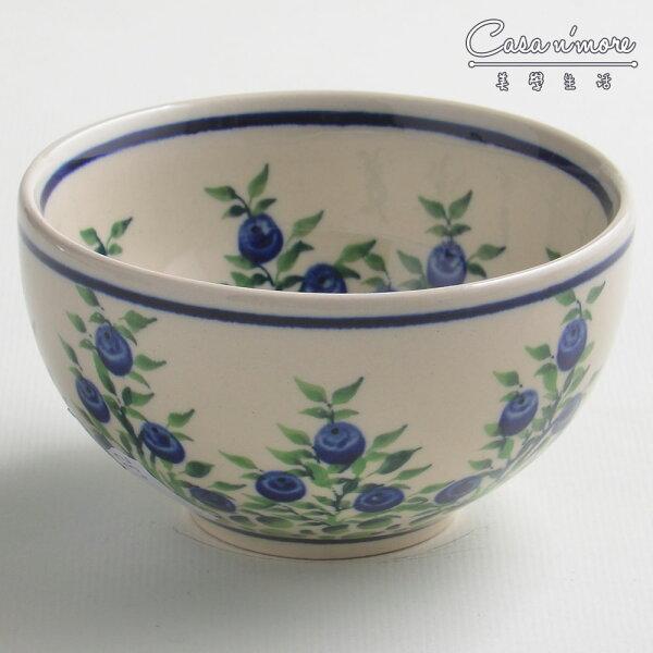 波蘭陶粉紫浪漫系列餐碗飯碗湯碗碗公12cm波蘭手工製