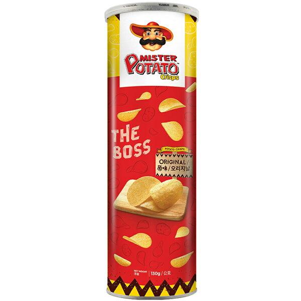 【MAMEE金廚】MisterPotato薯片先生-原味(130g)
