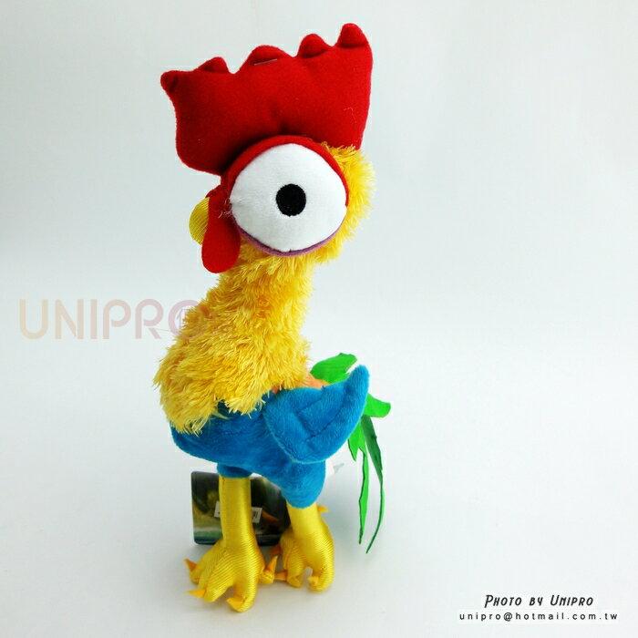 【UNIPRO】迪士尼 海洋奇緣 MOOANA 公雞 喜喜 Heihei 27公分 站姿 絨毛娃娃 玩偶 正版授權 Chicken