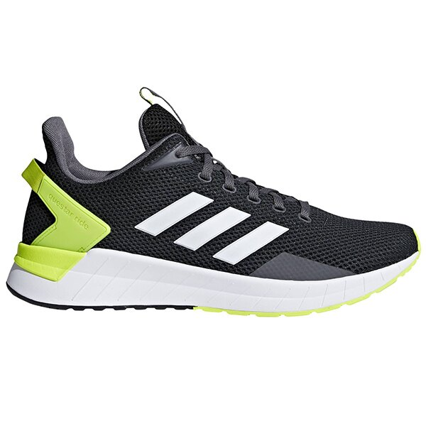 【ADIDAS】QUESTAR RIDE 慢跑鞋 運動鞋 黑色 男鞋 -DB1345 - 限時優惠好康折扣