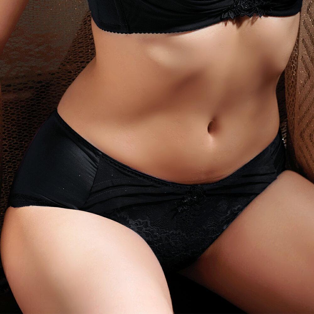 【Favori】魔力 美塑系列平口褲 (魅惑黑) 0