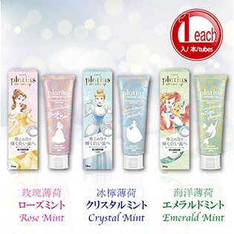 Rela 日樂:Toothpaste【MadeinJapan】PlatiuscreamyupPaste3Disneyprincesses90gLION日本獅王