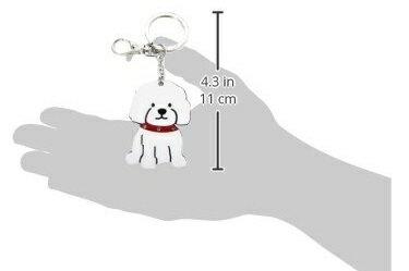 加拿大 foufoudog 鑰匙圈-比熊犬 Bichon