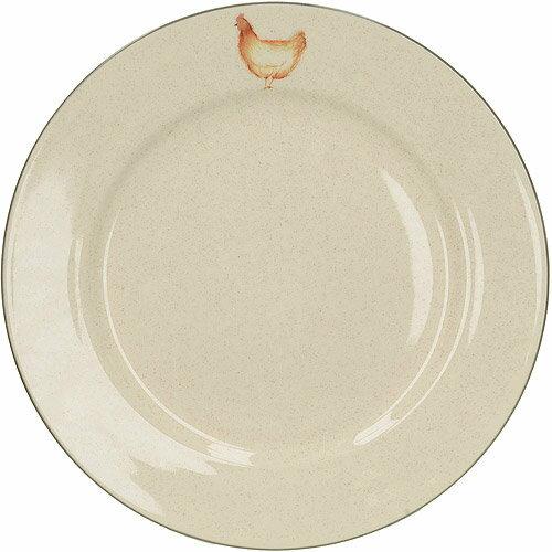 《CreativeTops》Feather陶製淺餐盤(母雞27.5cm)